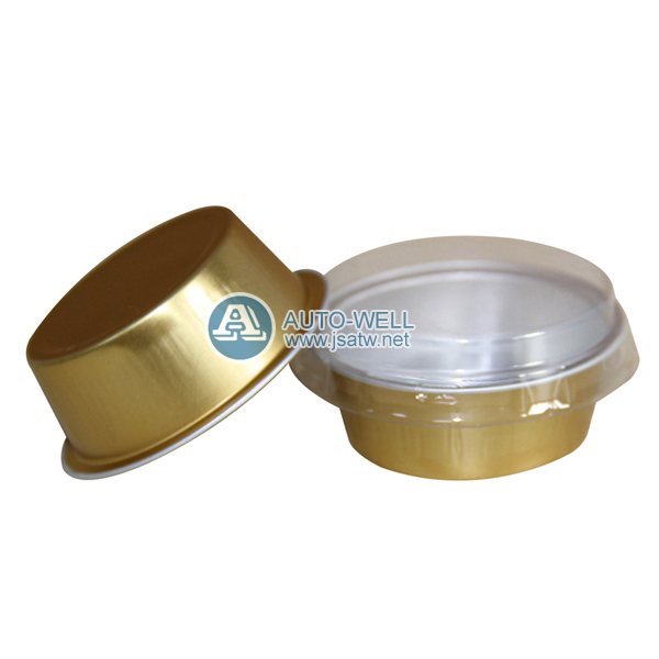 disposable aluminium foil food containers with lids